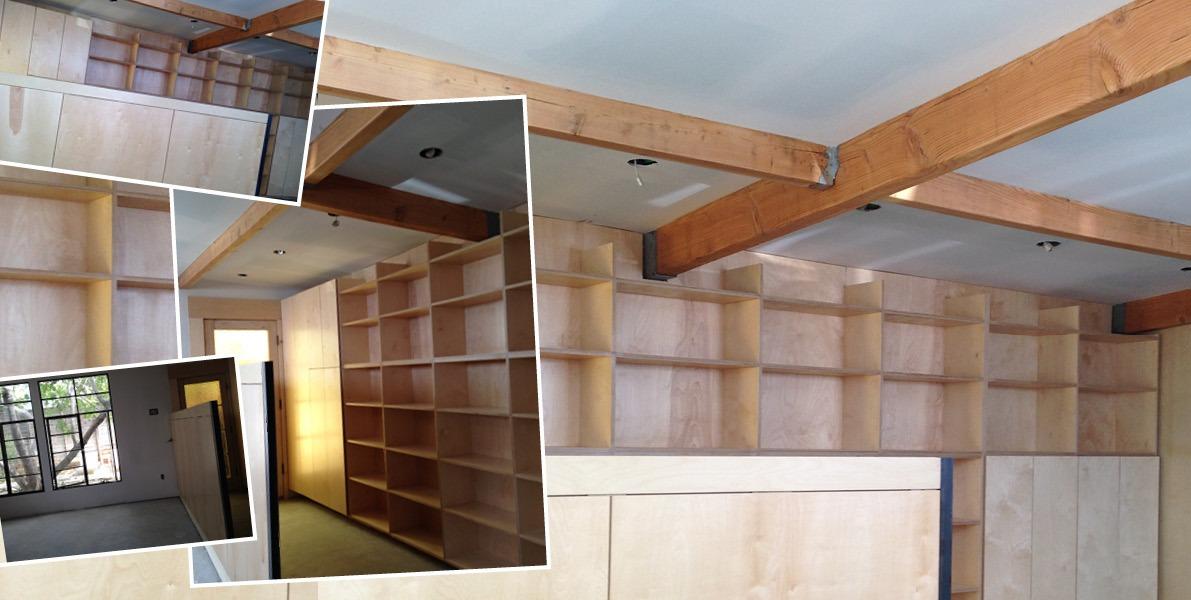 closet, bookcase