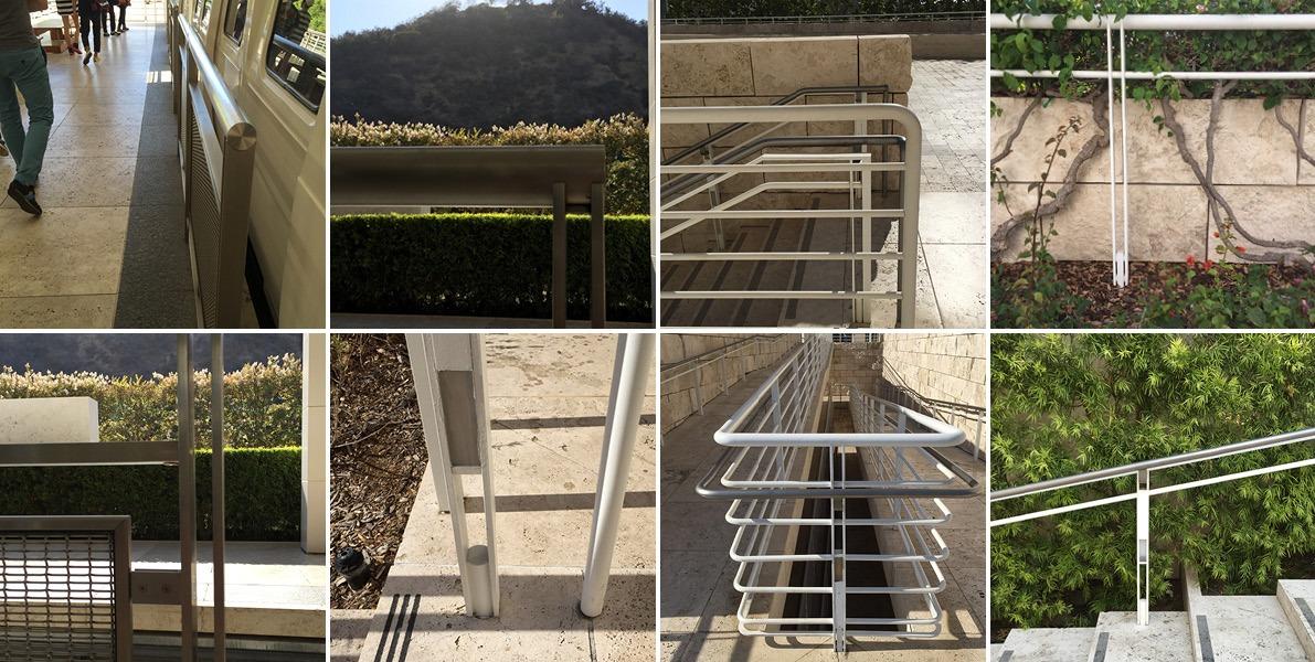 handrails, guardrails