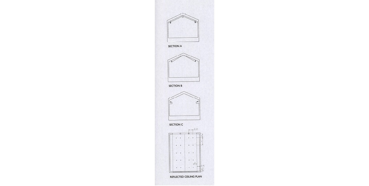 reflected ceiling plan, design