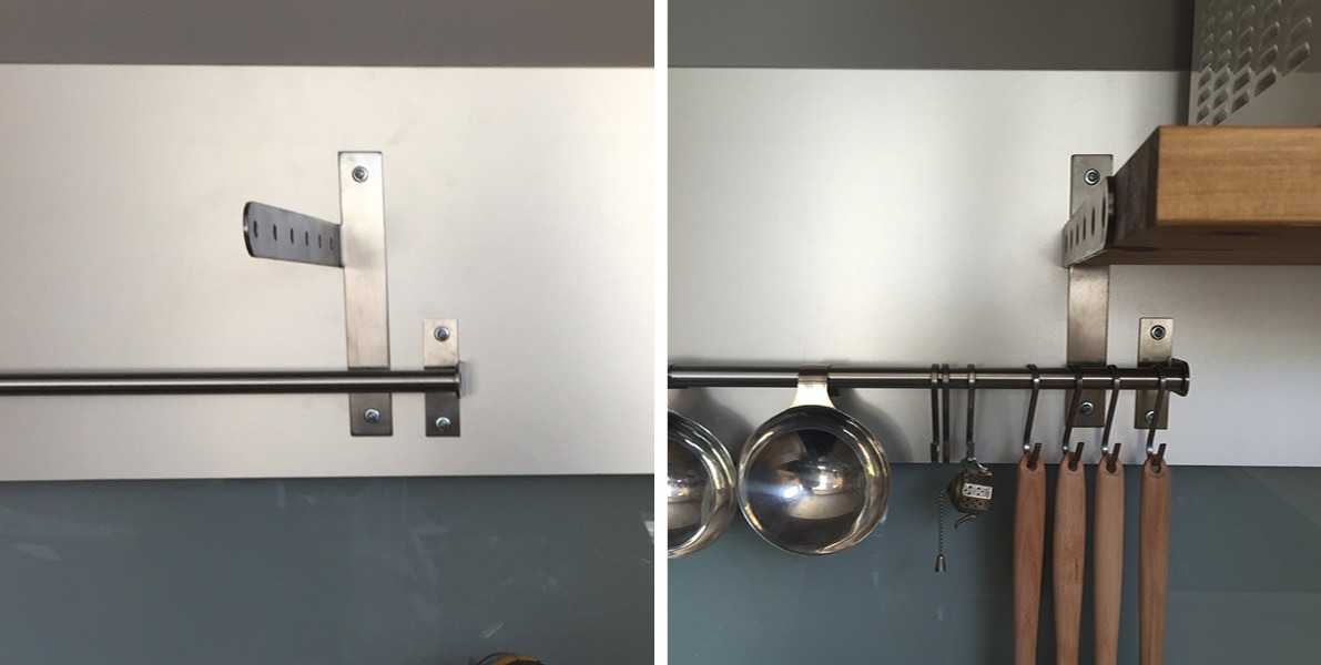 customizing, IKEA, wall-mounted organizer