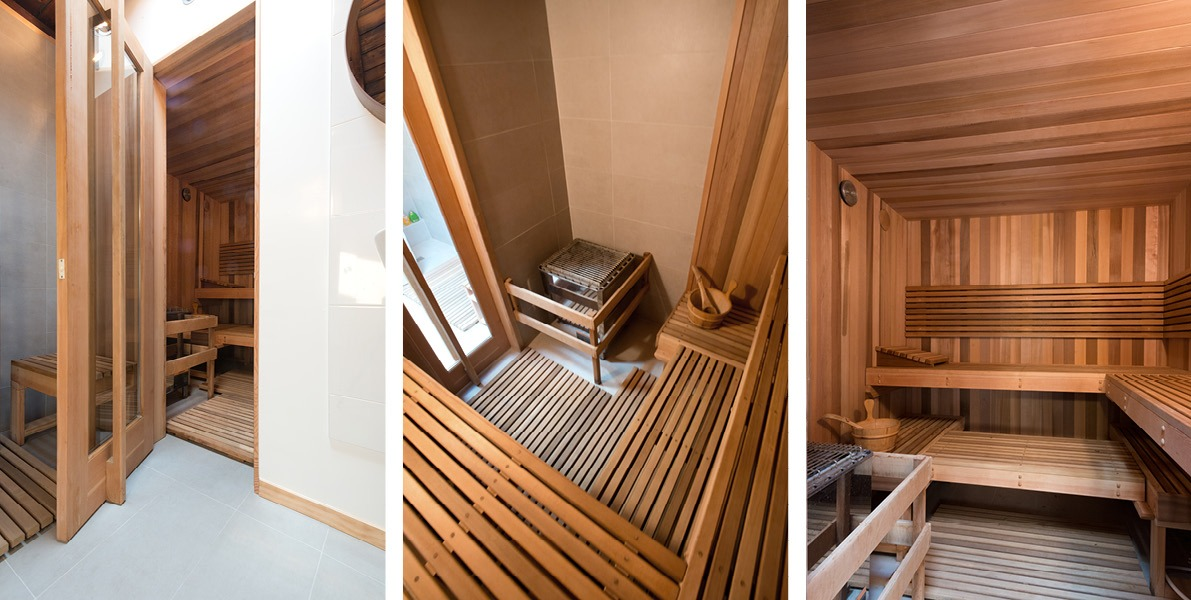sauna, bathroom, storage, relaxation