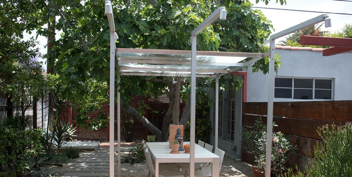 garden, architecture, structure, circulation, lighting