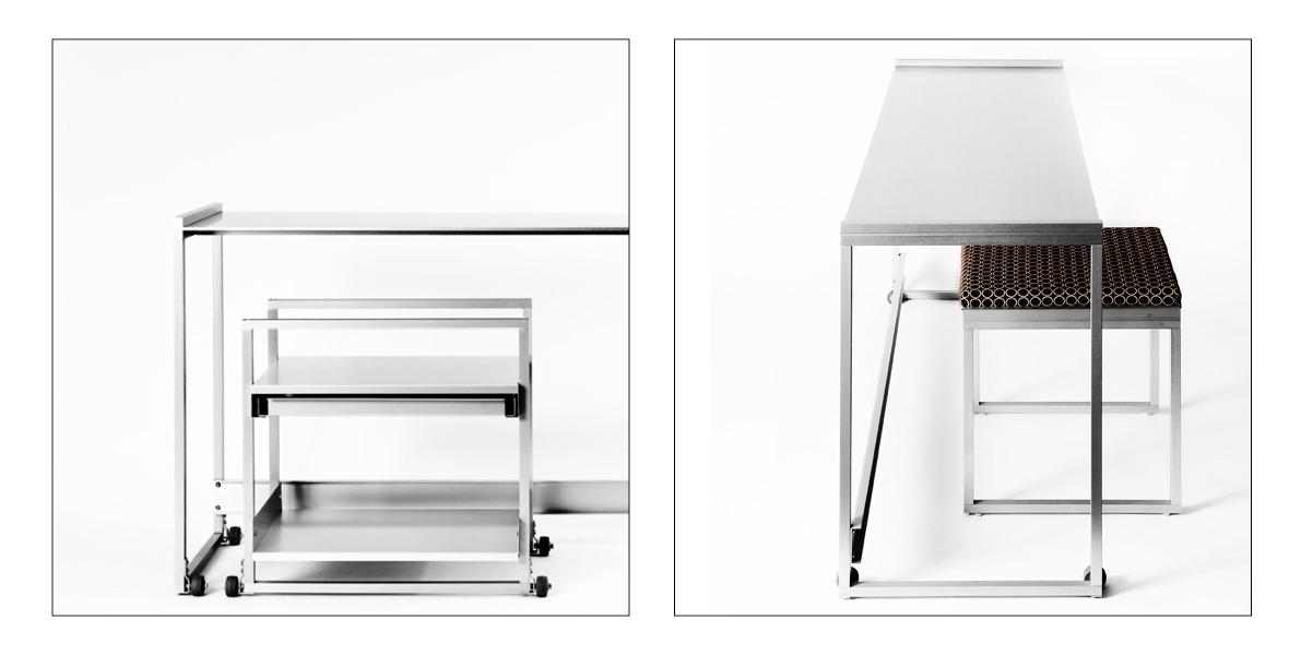 space-saving desk, architect on demand