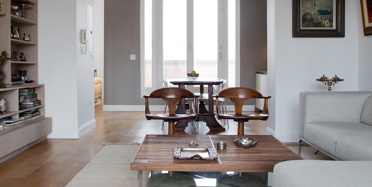 urban apartment, architect on demand