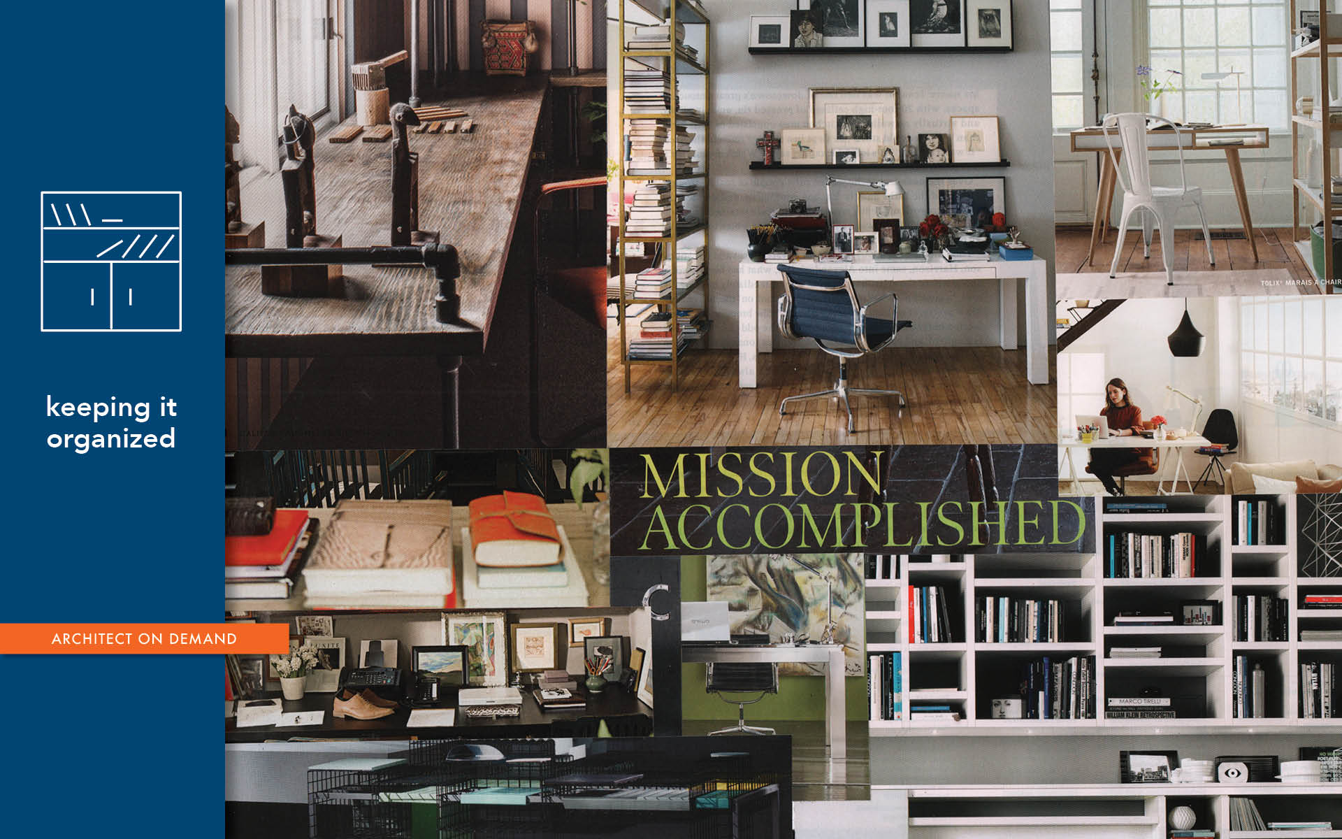 home office, Home Depot, IKEA, architect on demand, advice without strings