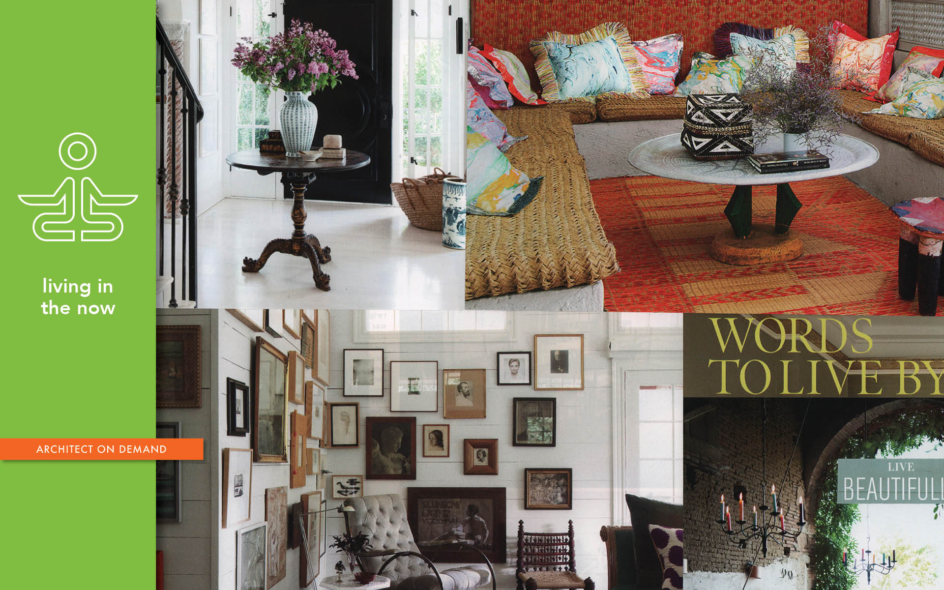 celebrating beauty, home, architect on demand, advice without strings