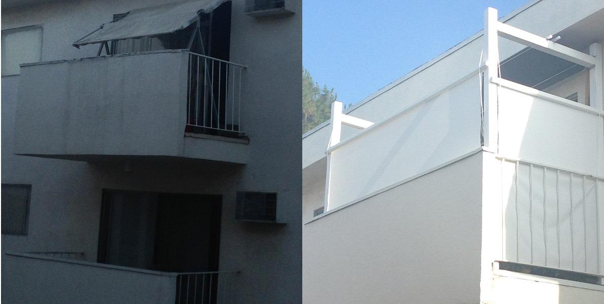 design, DIY, balcony, canopy