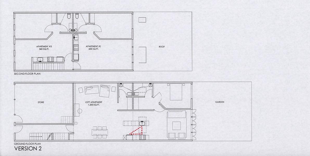 kitchen, work triangle