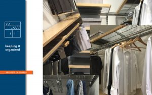 reach-in closet, architect on demand, advice without strings
