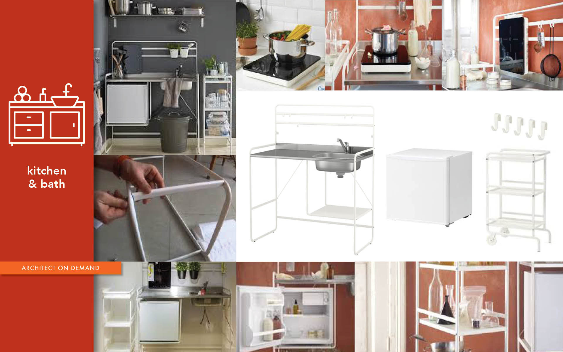 IKEA's Sunnersta mini-kitchen, architect on demand, advice without strings