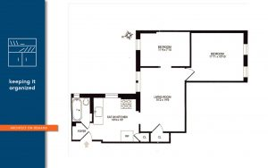 space planning, foyer, architect on demand, advice without strings
