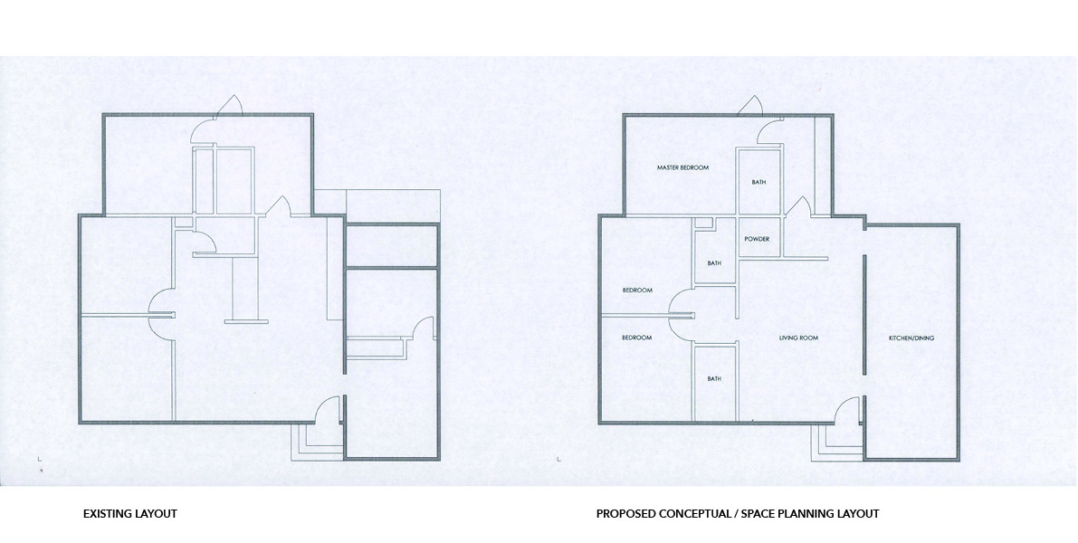space planning, renovation, conceptual, questions