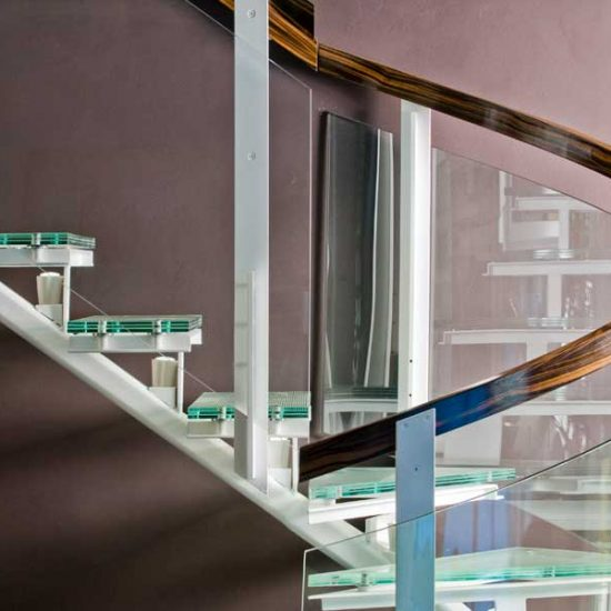 glass staircase, IKEA, architect on demand, advice without strings