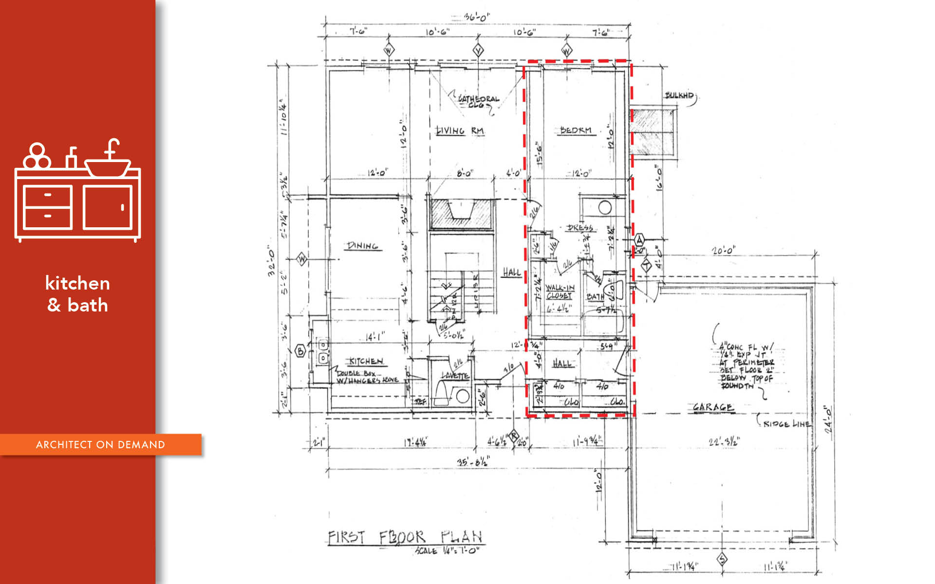 master bedroom, bathroom, renovation, architect on demand, advice without strings