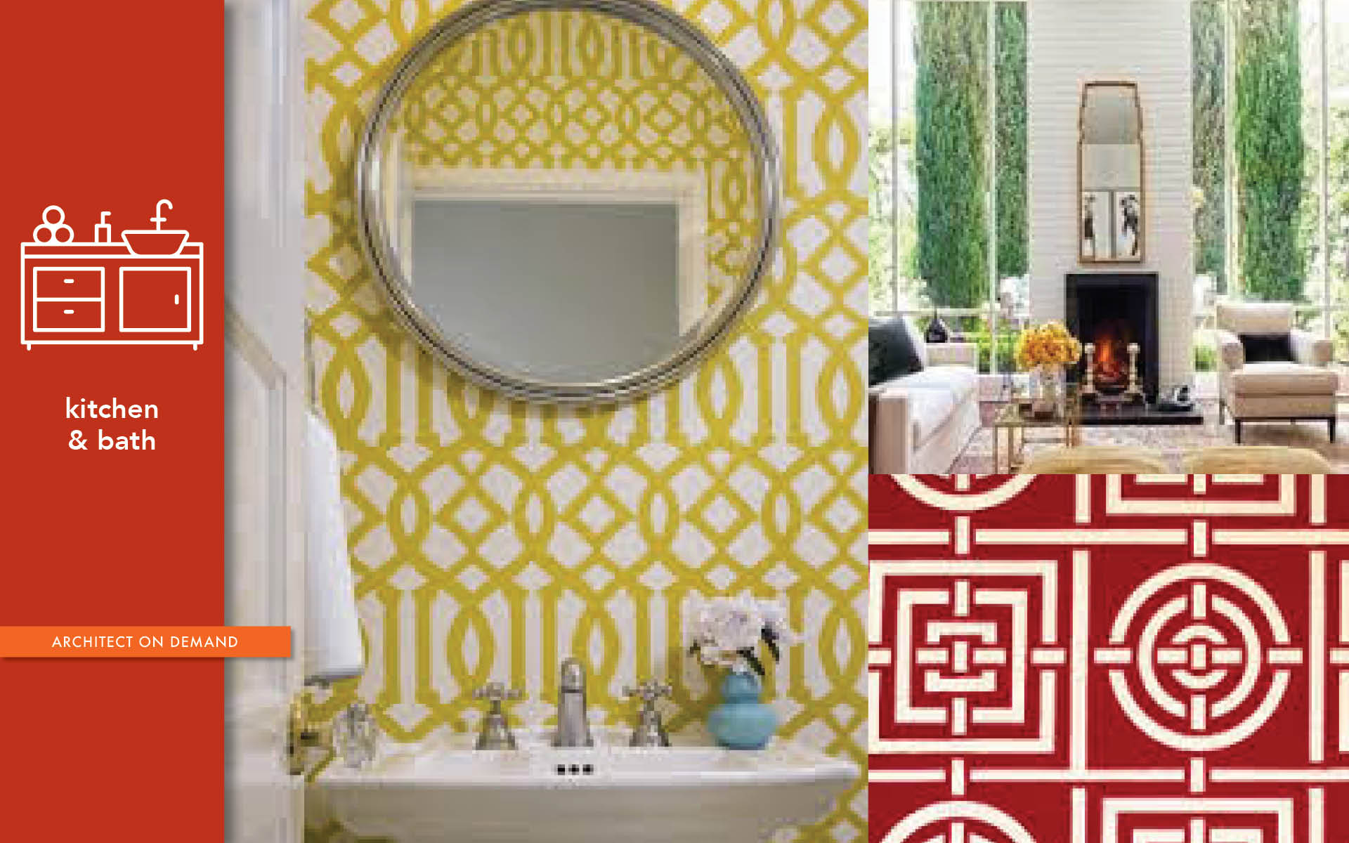 Hollywood Regency Style, remodel, architect on demand, advice without strings