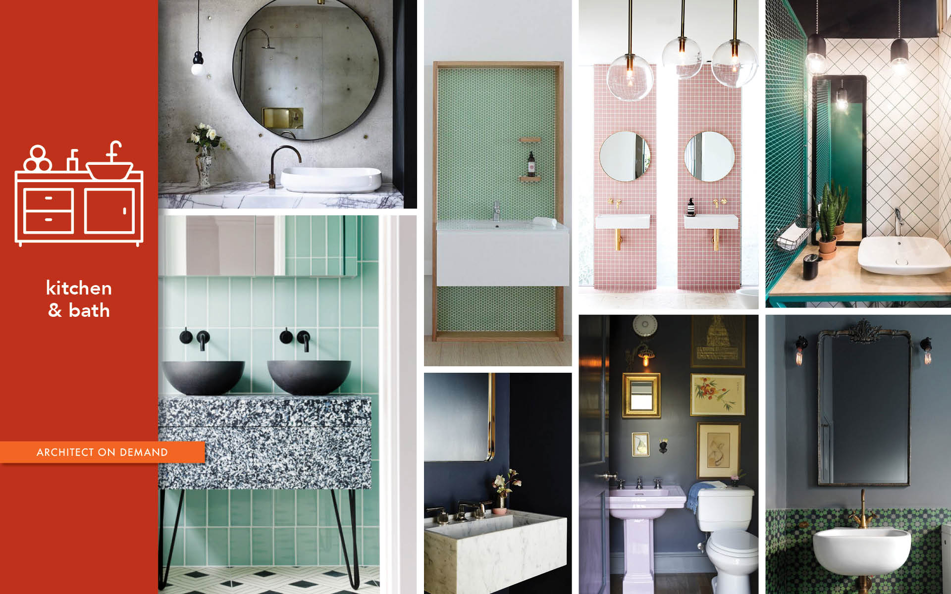 redesign, powder room, steps, architect on demand, advice without strings