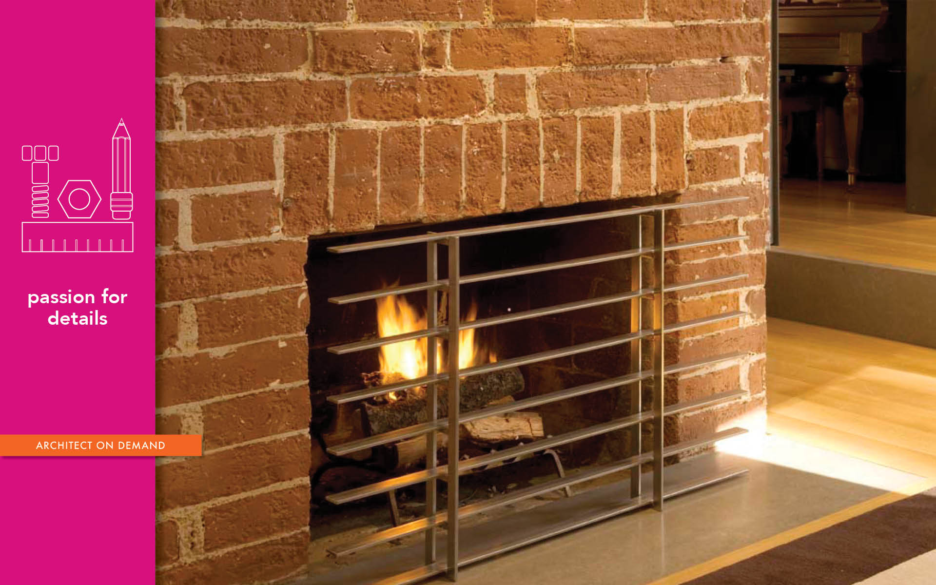 fireplace, architect-on-demand, advice-without-strings