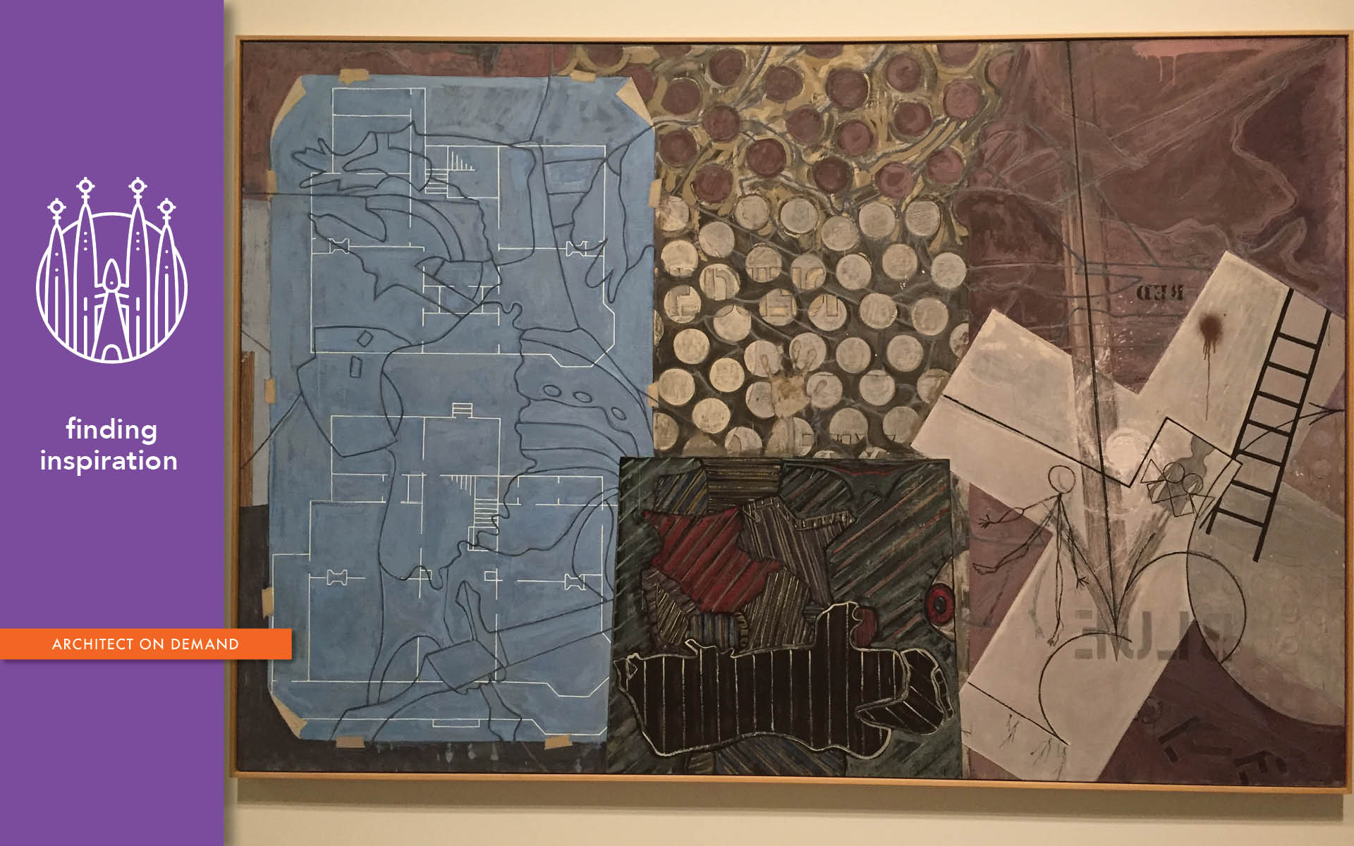 artist, truth, Jasper Johns, architect-on-demand, advice-without-strings