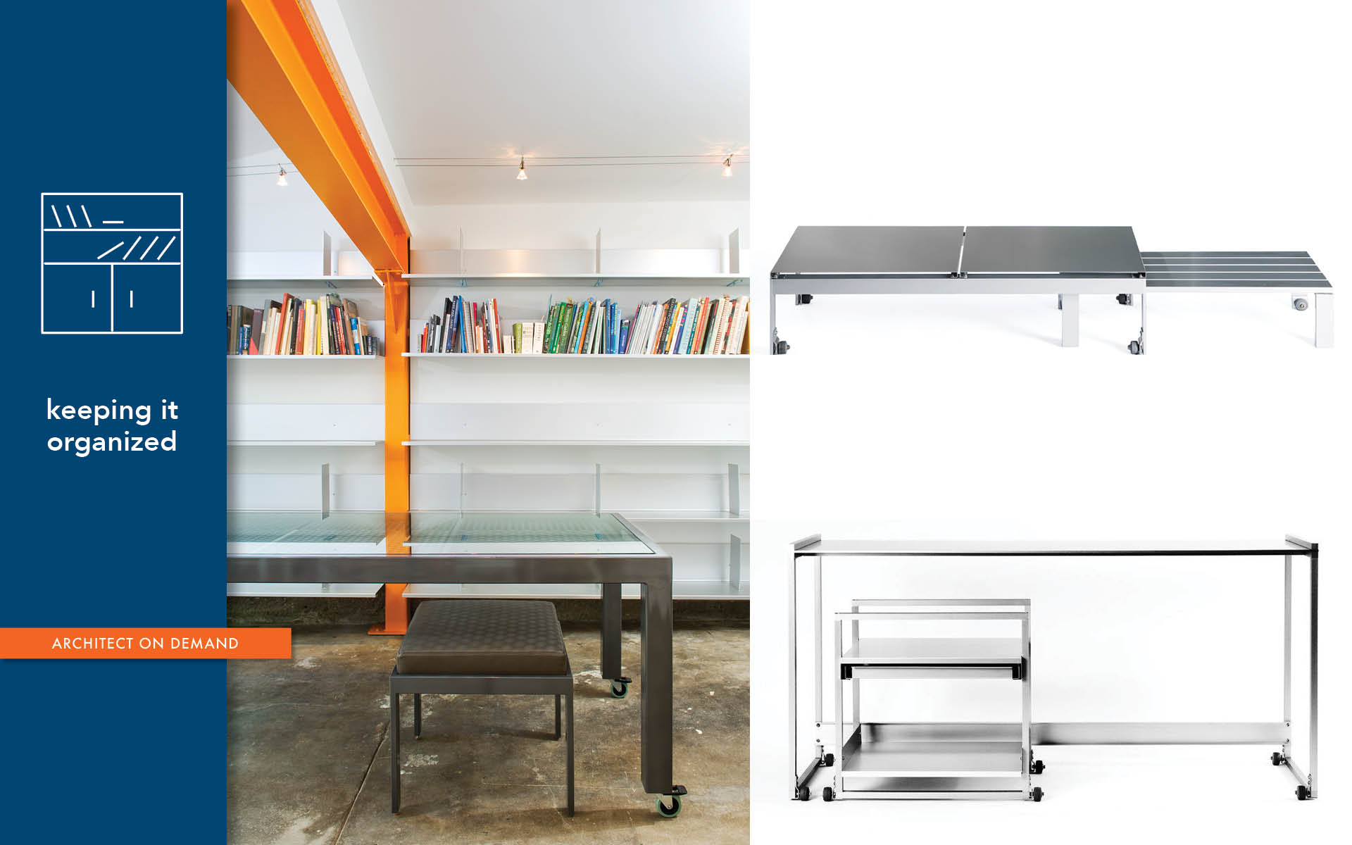 casters, wheels, furniture, versatility, architect-on-demand, advice-without-strings