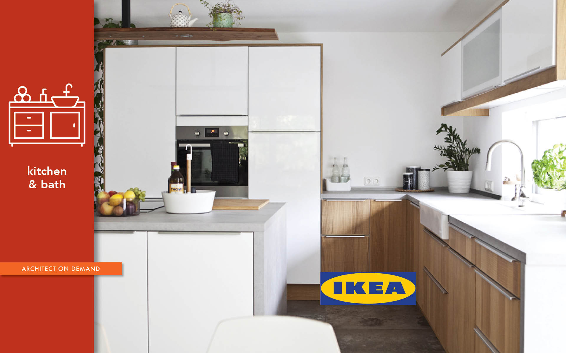 creative process, custom-built, IKEA, kitchen, architect-on-demand, advice-without-strings
